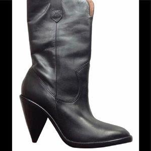 Kors Neely Black Boots Size 7 RARE